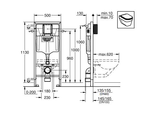 Схема Комплект Grohe Rapid